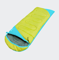 Four seasons warm indoor camping double sleeping bag